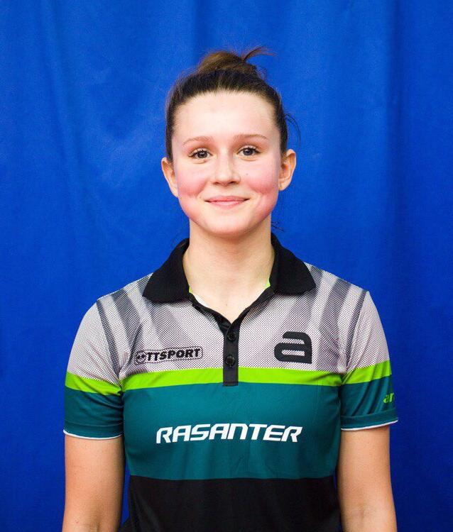 Valeria Shchetinkina gewann drei Einzel!