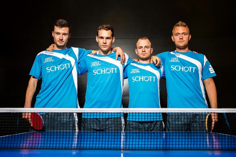 Das Team des SV SCHOTT in der 3. Bundesliga!