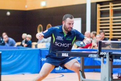 Linkshänder Marko Petkov ist mit dem SV SCHOTT doppelt im Einsatz!