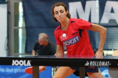 Anna Baklanova will mit ihrem Team gegen Hofstetten bestehen!