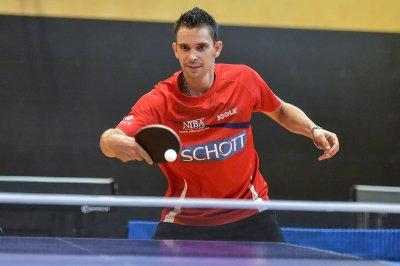Jan Skvrna siegte in beiden Einzeln!