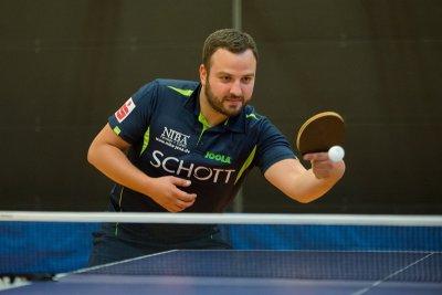 Marko Petkov war mit 3 Einzel- und 2 Doppelsiegen erfolgreichster Akteur des Wochenendes!