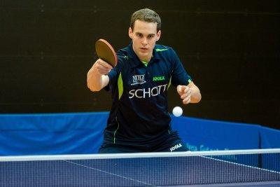 Pavol Mego gewann im Doppel und ein Einzel!