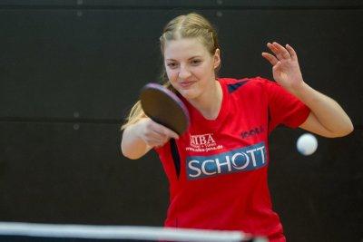 Kati Overhoff erwartet mit ihrem Team den TSV Schwabhausen!