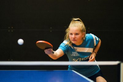 Katharina Bondarenko-Getz gewann bei den Mädchen ungeschlagen!