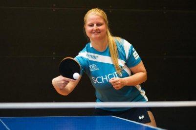 Martina Adamekova erzielte 3,5 Zähler!