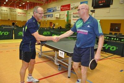 Gerd Wagner (l.) startet am Wochenende bei den Deutschen Seniorenmeisterschaften!