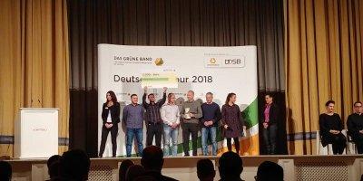 Die SV SCHOTT-Delegation bei der Preisverleihung!