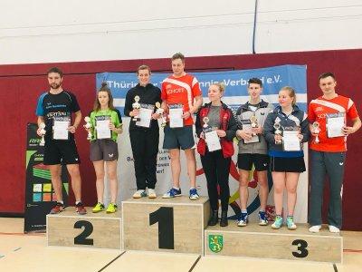 Im Mixed siegte Marius Marth mit Franziska Reith!
