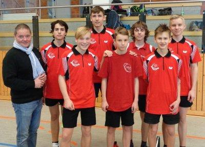 Das erfolgreiche Team des Carl-Zeiss-Gymnasiums!