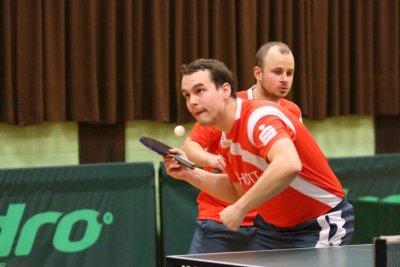 Pavol Mego (vorne) und Roman Rezetka blieben in München ungeschlagen!
