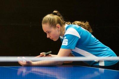 Margarita Tischenko sorgte mit dem 3:1 gegen Lara Neubert für den fünften Punkt!
