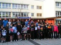 Die Teilnehmer der Internationalen Sportjugendbegegnung