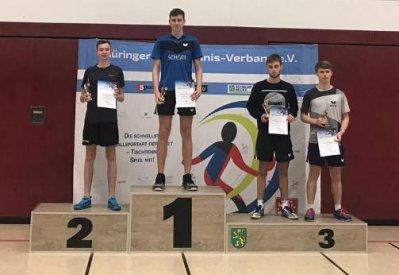 Alexander Mrowka stand ganz oben auf dem Siegerpodest!