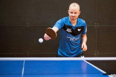 Roman Rezetka war mit 3 Einzel- und 2 Doppelsiegen erfolgreichster Spieler des Wochenendes!