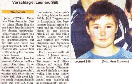 Vorschlag 6: Leonard Süß