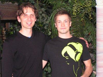 Jan Schmidt (l.) und Chris Albrecht